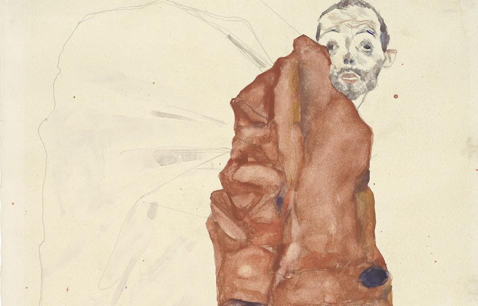 Faksimiledruck Egon Schiele