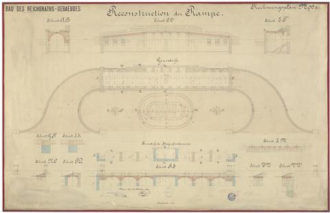Rechnungsplan Parlament Wien